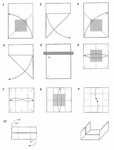 3Д куб Бумага фото 4