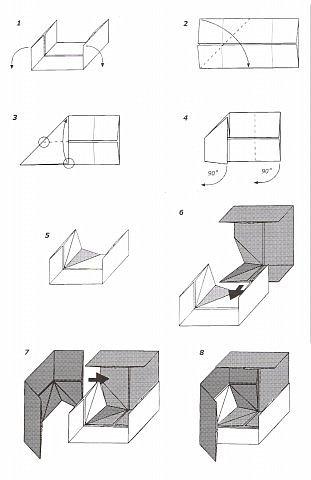 3Д куб Бумага фото 6