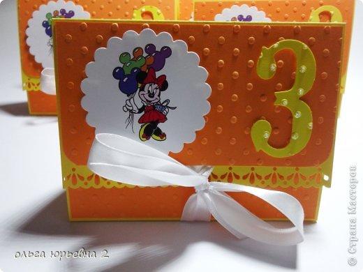 Скрапбукинг День рождения Ассамбляж Приглашение на День Рождения Бумага фото 2