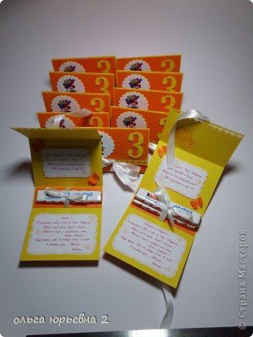Скрапбукинг День рождения Ассамбляж Приглашение на День Рождения Бумага фото 6