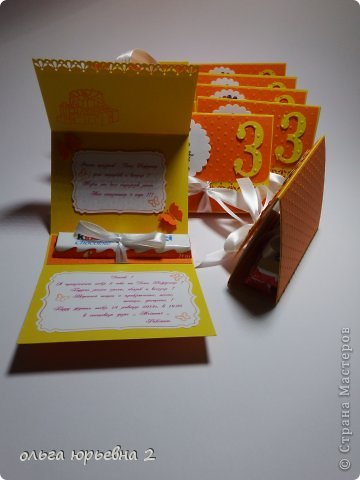 Скрапбукинг День рождения Ассамбляж Приглашение на День Рождения Бумага фото 7