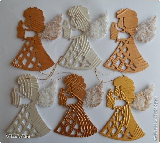 Ангелочки, ёлочки, снежинки для уличной елки фото 15