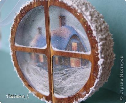 Задекорирована бобина от скотча. Внутри вырезанная распечатанная картинка. фото 3