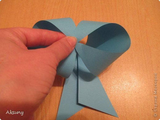 Produto de classe Mestre de Artesanato Aniversário Ano Novo Papel Origami arcos Minha Foto 8
