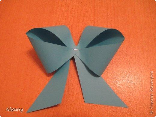 Produto de classe Mestre de Artesanato Aniversário Ano Novo Papel Origami arcos Minha foto 9