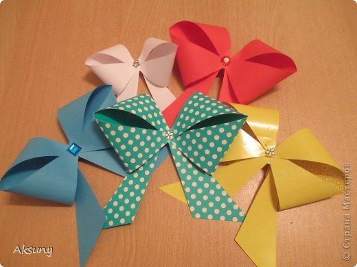 Produto de classe Mestre de Artesanato Aniversário Ano Novo Papel Origami arcos Minha foto 1