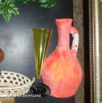 Картина панно рисунок Мастер-класс Коллаж Картина из кожи Натюрморт В Ожидании   Кожа фото 16