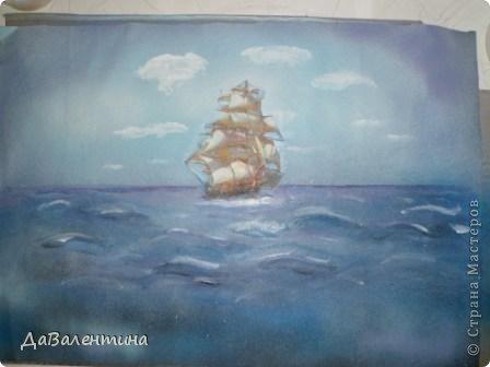 Картина панно рисунок Мастер-класс Коллаж Картина из кожи Натюрморт В Ожидании   Кожа фото 58