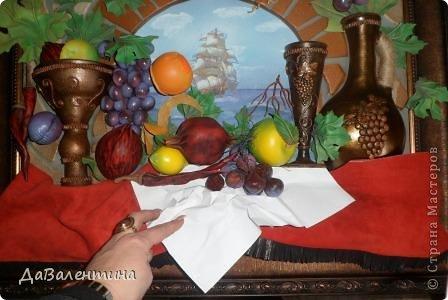 Картина панно рисунок Мастер-класс Коллаж Картина из кожи Натюрморт В Ожидании   Кожа фото 62