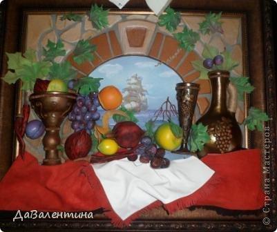 Картина панно рисунок Мастер-класс Коллаж Картина из кожи Натюрморт В Ожидании   Кожа фото 63