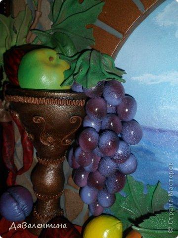 Картина панно рисунок Мастер-класс Коллаж Картина из кожи Натюрморт В Ожидании   Кожа фото 7