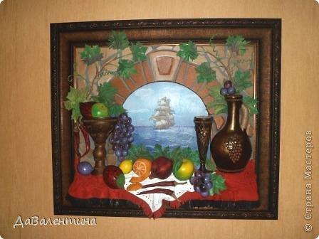 Картина панно рисунок Мастер-класс Коллаж Картина из кожи Натюрморт В Ожидании   Кожа фото 65