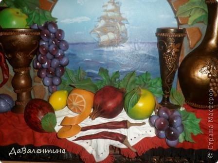 Картина панно рисунок Мастер-класс Коллаж Картина из кожи Натюрморт В Ожидании   Кожа фото 5
