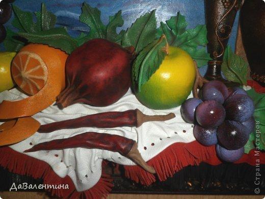 Картина панно рисунок Мастер-класс Коллаж Картина из кожи Натюрморт В Ожидании   Кожа фото 4