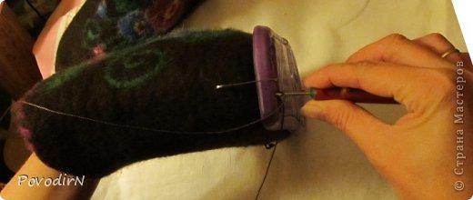 В этом мастер-классе я постараюсь объяснить, как я подшиваю валенки (тапочки). Как такие валенки появились http://stranamasterov.ru/node/670840/edit фото 7