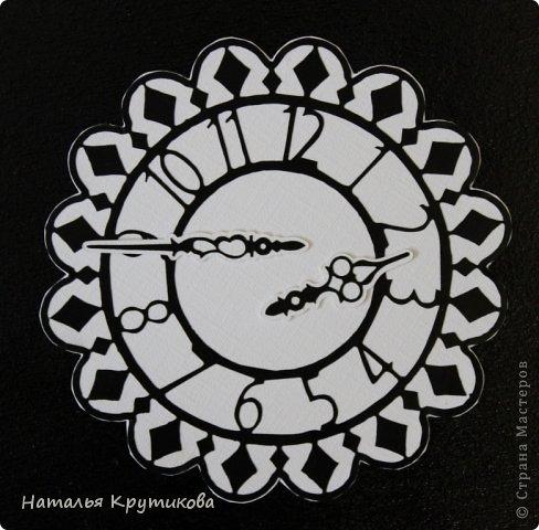 Открытка Новый год Вырезание Новогодняя открытка 2014 Бумага Картон фото 8