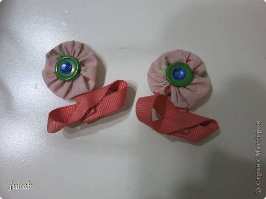В продолжении предыдущей темы девчачьих радостей,делала в подарок такой набор с вышивкой,смотрится очень изящно. фото 5