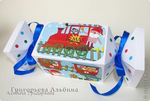 """Предлагаю интересную коробочку конфетку! Думаю ребёнок будет очень рад получить сладенький подарок с такой """"конфетке""""!  Порадуйте ваших деток! Поспешите, скоро Новый год!"""