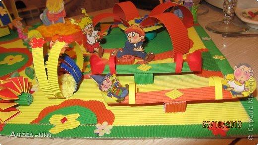 вот такой макет будущей детской площадки у нас получился! фото 9