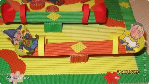 вот такой макет будущей детской площадки у нас получился! фото 4