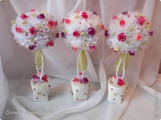 Декор предметов Свадьба оформление свадебного зала Ткань фото 4