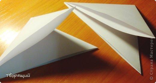 Мастер-класс Новый год Оригами Оригинальная объёмная снежинка Бумага фото 3
