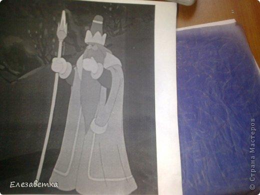 Картина панно рисунок Мастер-класс 8 марта День защиты детей День матери Новый год Аппликация Мозаика Как я это делаю  Мини МК Клей Пенопласт Ткань фото 6
