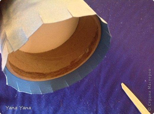 Мастер-класс Цумами Канзаши мастер-класс шкатулки канзаши Картон Ткань фото 14