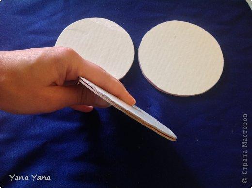 Мастер-класс Цумами Канзаши мастер-класс шкатулки канзаши Картон Ткань фото 6