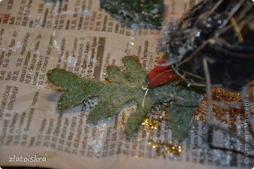 Мастер-класс Поделка изделие Новый год Рождество Моделирование конструирование Шишка из яичных лотков МК Материал бросовый фото 32