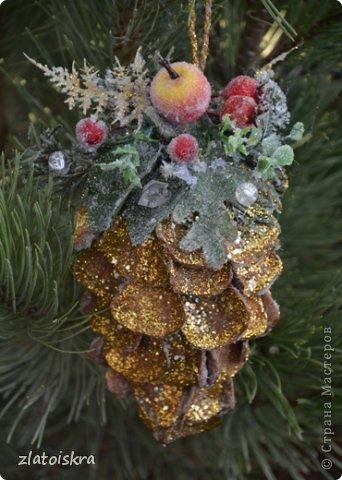Мастер-класс Поделка изделие Новый год Рождество Моделирование конструирование Шишка из яичных лотков МК Материал бросовый фото 1