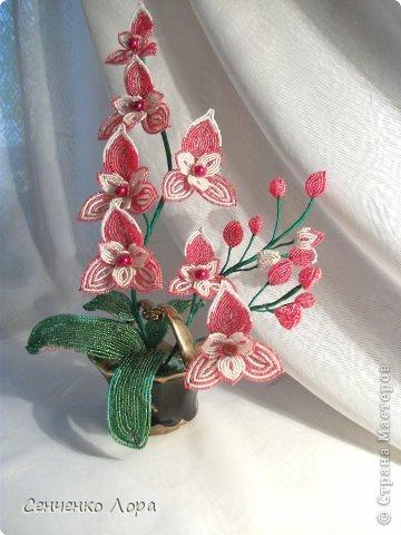 Флористика искусственная Бисероплетение орхидея Искушение Онлайн Радуги рукоделий Бисер.