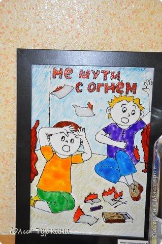 """Такую поделку на новогоднюю тему сделали мы с дочкой на конкурс""""Огонь-друг, Огонь-враг"""" фото 7"""