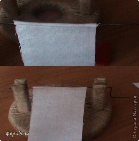 Мастер-класс Моделирование конструирование Губозакаточная машинка Картон гофрированный Клей Нитки Ткань фото 23