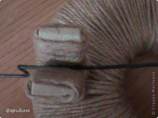 Мастер-класс Моделирование конструирование Губозакаточная машинка Картон гофрированный Клей Нитки Ткань фото 25