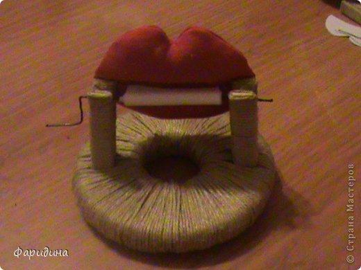 Мастер-класс Моделирование конструирование Губозакаточная машинка Картон гофрированный Клей Нитки Ткань фото 28