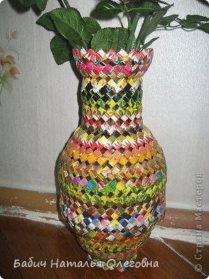 Плетение из фантиков от конфет своими руками