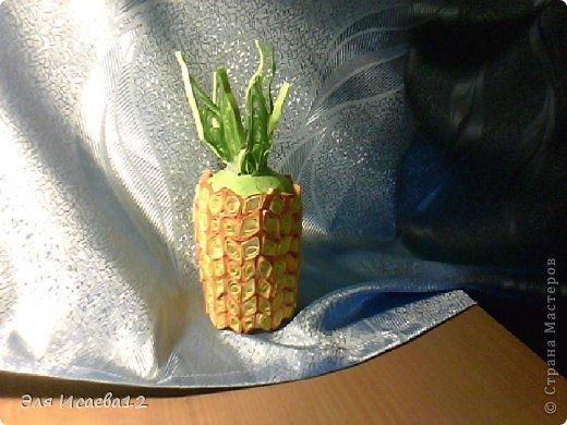 Мой ананас так и хочется откусить