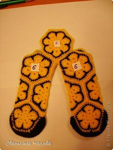 Мастер-класс Вязание крючком МК Жирафик по имени Ирис в технике африканский цветок  Пряжа фото 14