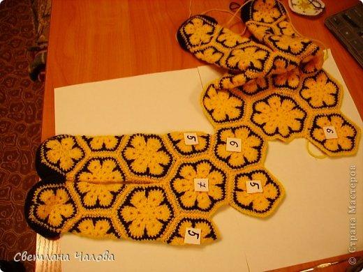 Мастер-класс Вязание крючком МК Жирафик по имени Ирис в технике африканский цветок  Пряжа фото 17