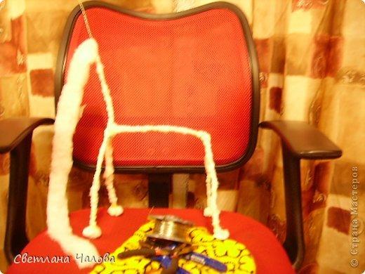 Мастер-класс Вязание крючком МК Жирафик по имени Ирис в технике африканский цветок  Пряжа фото 22