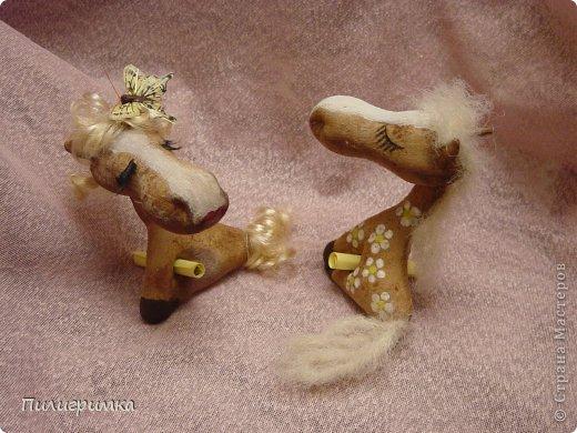 Мастер-класс Новый год Шитьё Маленькая но гордая лошадь МК Ткань фото 1
