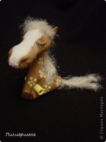 Мастер-класс Новый год Шитьё Маленькая но гордая лошадь МК Ткань фото 2