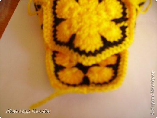 Мастер-класс Вязание крючком МК Жирафик по имени Ирис в технике африканский цветок  Пряжа фото 24