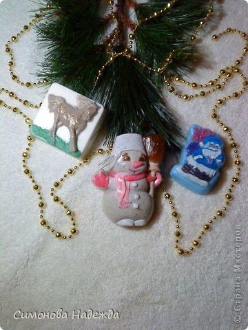 Всем здравствуйте!Представляю вам очередную партию новогоднего мыла.Сразу извините за качество фото,получились темноватые. фото 4