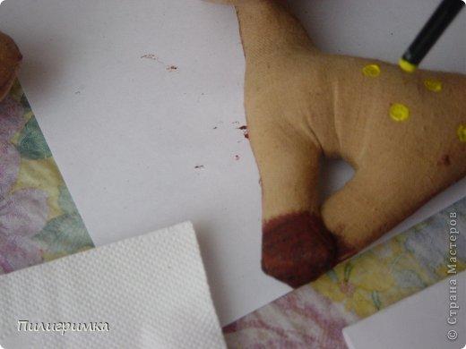 Мастер-класс Новый год Шитьё Маленькая но гордая лошадь МК Ткань фото 44