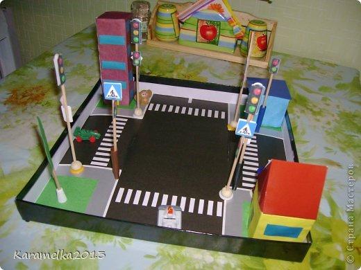 Макет перекрёстка для детского сада