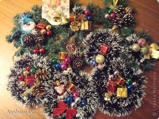 Декор предметов Мастер-класс Поделка изделие Новый год Декупаж Шитьё Новый год к нам мчится вот и мне не спится   фото 26