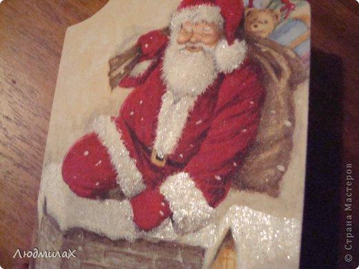 Декор предметов Мастер-класс Поделка изделие Новый год Декупаж Шитьё Новый год к нам мчится вот и мне не спится   фото 24