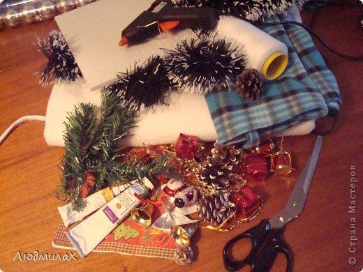 Декор предметов Мастер-класс Поделка изделие Новый год Декупаж Шитьё Новый год к нам мчится вот и мне не спится   фото 3